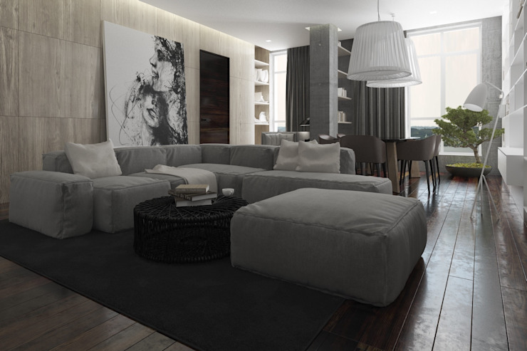 Minimalist living room by MC Interior Minimalist