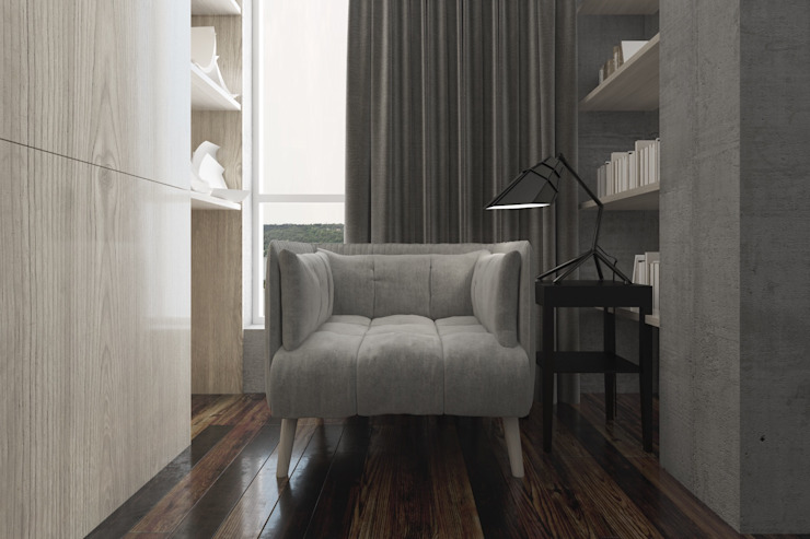 Luxury minimalism Гостиная в стиле минимализм от MC Interior Минимализм