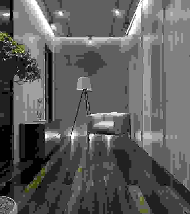 Luxury minimalism Коридор, прихожая и лестница в стиле минимализм от MC Interior Минимализм