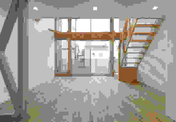 客廳 by 岡本建築設計室, 現代風