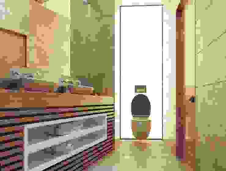 Luxury minimalism Ванная комната в стиле минимализм от MC Interior Минимализм