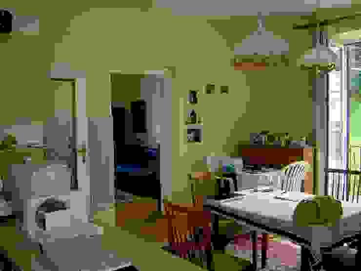 Küche vorher/Schlafzimmer nachher INARCH Sabine Schimanofsky