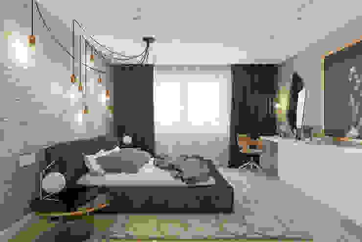 Modern style bedroom by Алена Булатая Modern