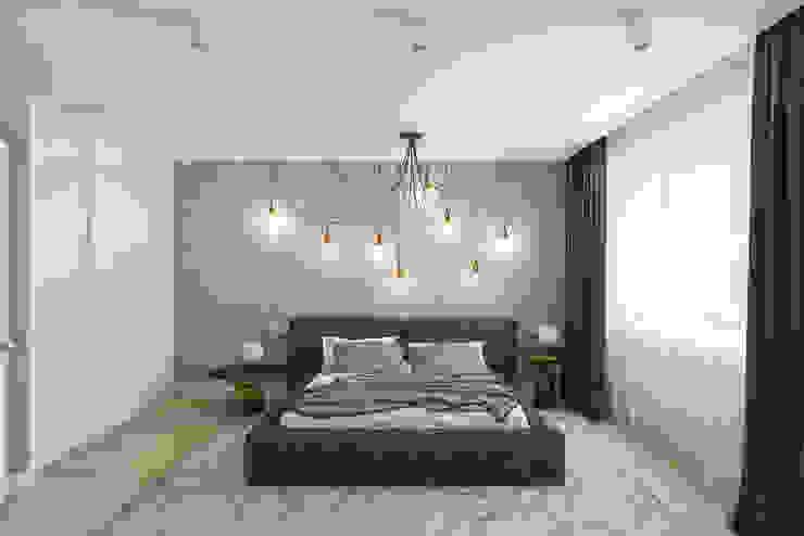 B. Apartments: Спальни в . Автор – Алена Булатая, Модерн