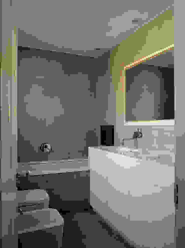 Park Village West Belsize Architects Modern style bathrooms