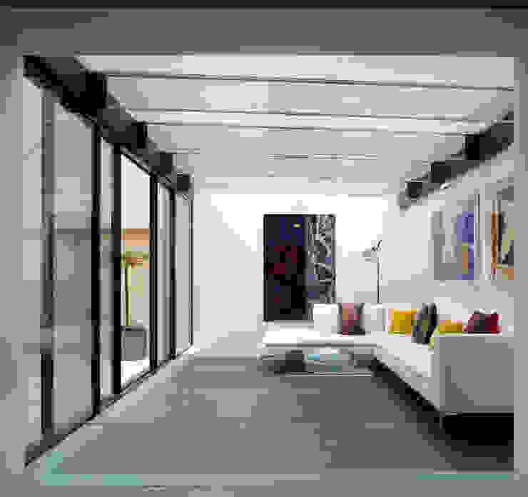 Park Village West Belsize Architects Living room