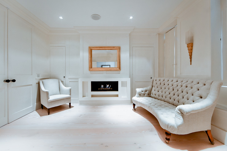 Pond Street Belsize Architects Living room