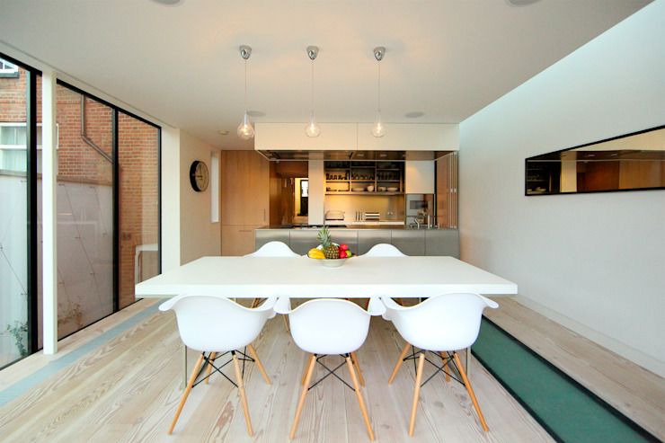 Pond Street Modern kitchen by Belsize Architects Modern