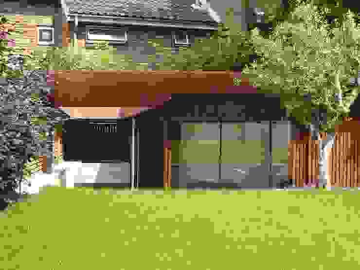 Pond Street Belsize Architects Modern garage/shed