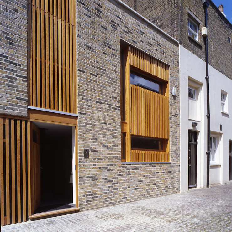 Park Square Mews Belsize Architects Modern home
