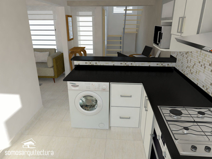 Modern style kitchen by homify Modern