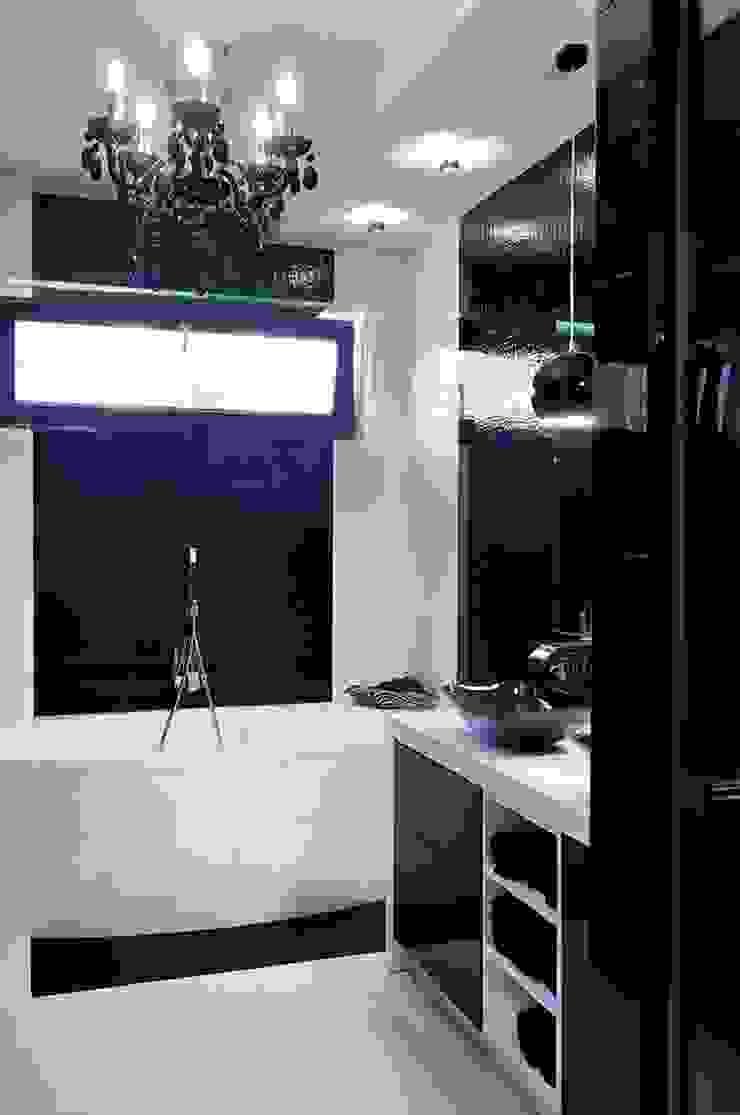 ARTEMA PRACOWANIA ARCHITEKTURY WNĘTRZ Modern Bathroom Black
