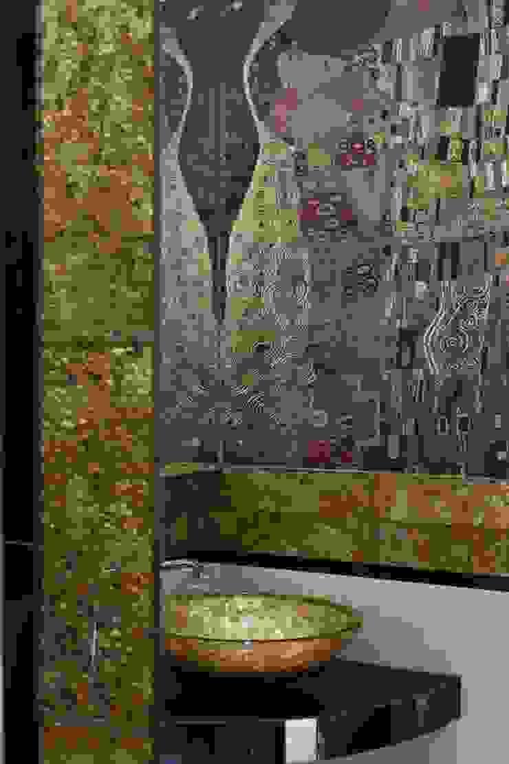 Mieszkanie na poddaszu Nowoczesna łazienka od ARTEMA PRACOWANIA ARCHITEKTURY WNĘTRZ Nowoczesny