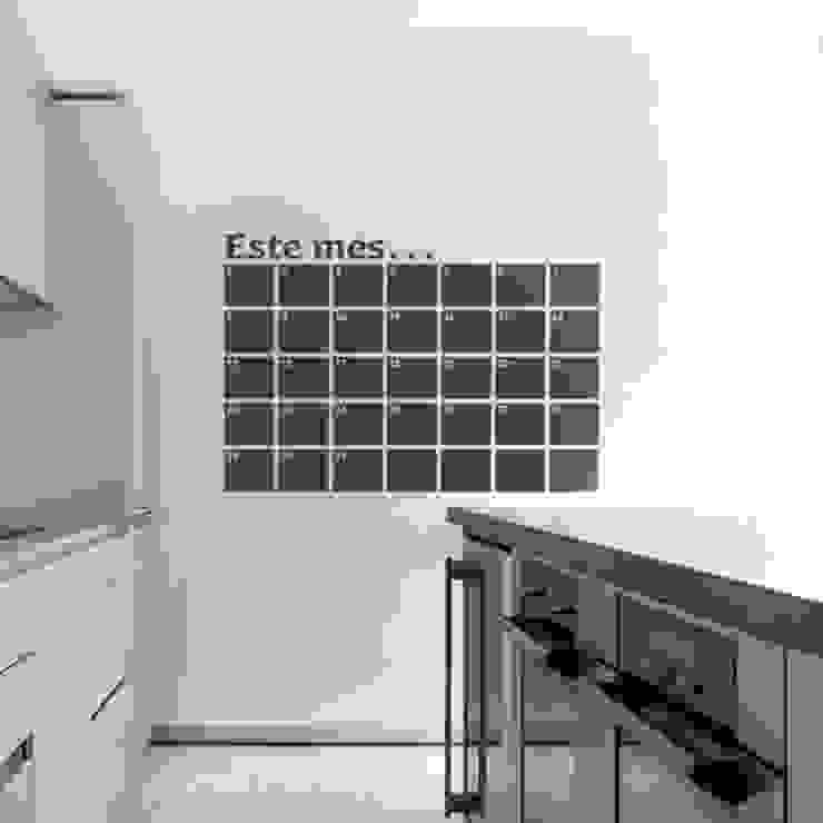 Paredes y pisos de estilo  por Goodvinilos