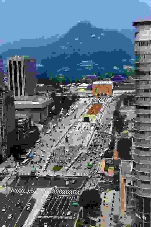 Gwanghwamun Plaza by Seo Ahn R&D Design Group
