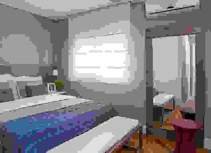 Apartamento RM Quartos modernos por Flavia Sa Arquitetura Moderno
