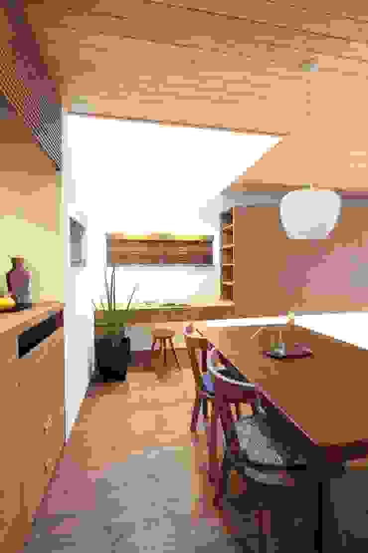 haws建築設計事務所 餐廳 木頭 Wood effect