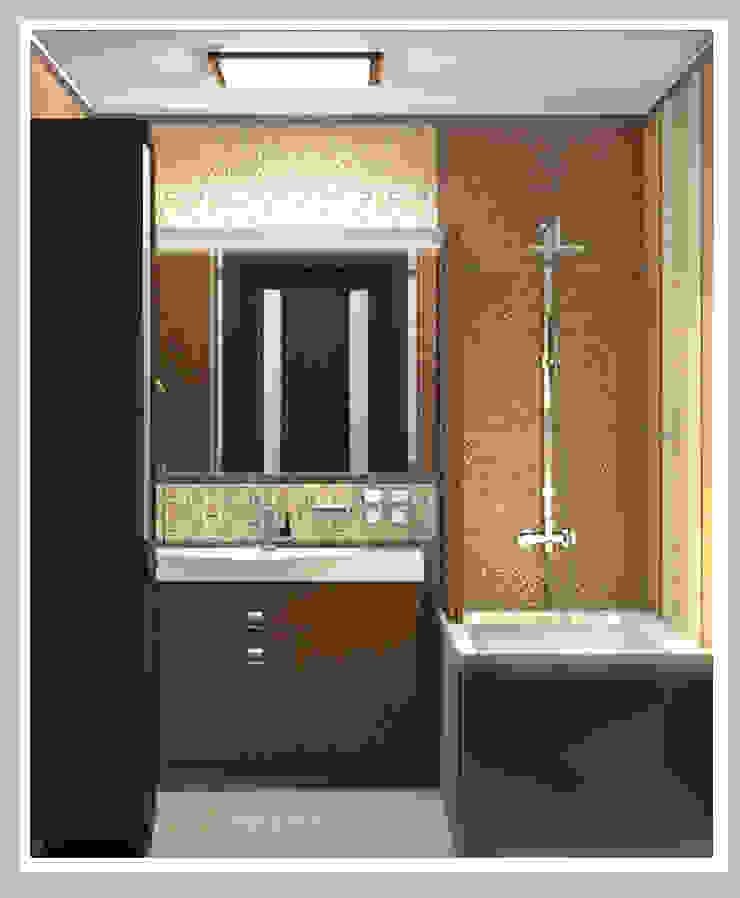 Ванная комната Вид 1 Ванная в азиатском стиле от Рязанова Галина Азиатский