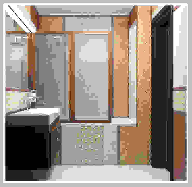 Ванная комната Вид 3 Ванная в азиатском стиле от Рязанова Галина Азиатский