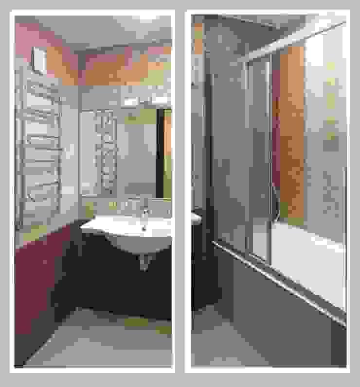 Фото Ванная комната Ванная в азиатском стиле от Рязанова Галина Азиатский
