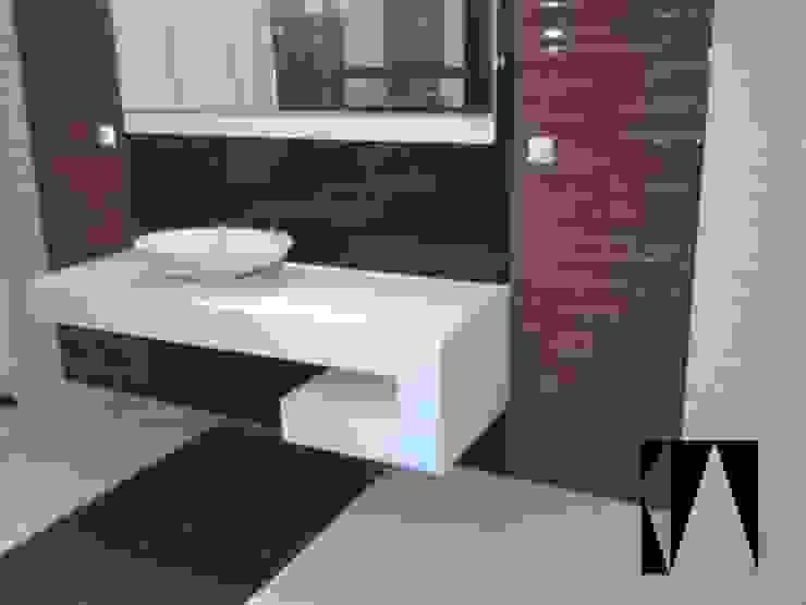 Łazienka Nowoczesna łazienka od Katarzyna Wnęk Nowoczesny