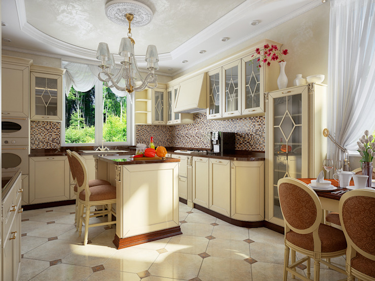 Classic style kitchen by Инна Михайская Classic