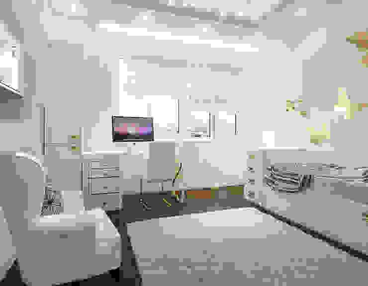 ЖК Велл Хаус (Well House), 163 м² Детские комната в эклектичном стиле от Bronx Эклектичный