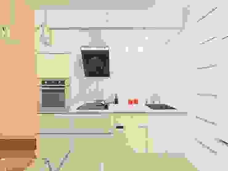 Minimalist kitchen by Katarzyna Wnęk Minimalist