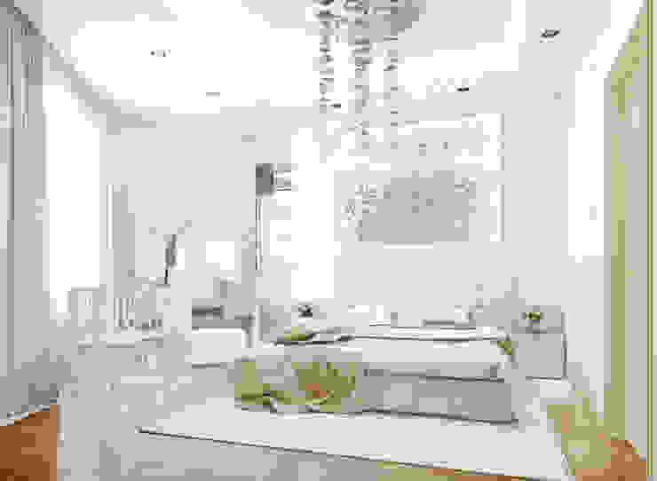 Projekty,  Sypialnia zaprojektowane przez Bronx, Eklektyczny