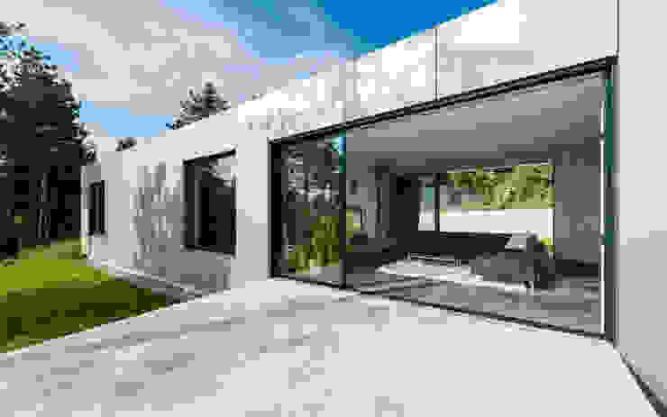 Terasse / Wohnbereich Moderner Balkon, Veranda & Terrasse von PLANET architects Modern