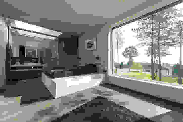 Chambre moderne par PLANET architects Moderne