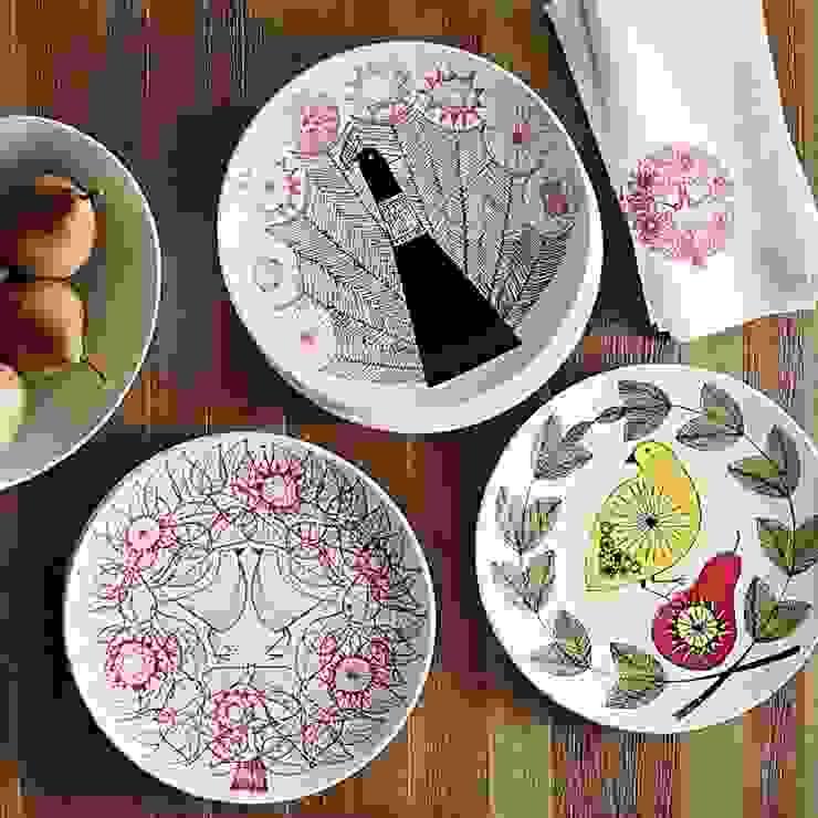مطبخ تنفيذ Carly Dodsley Ceramics,