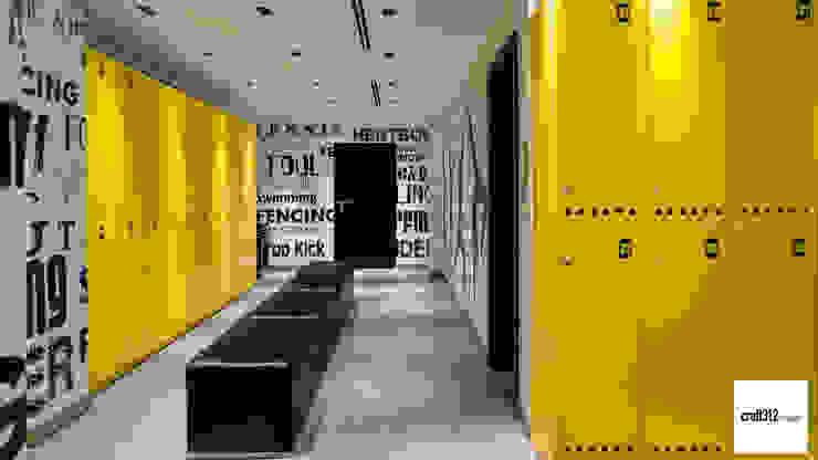 Loft Modern Koridor, Hol & Merdivenler Craft312 studio Modern