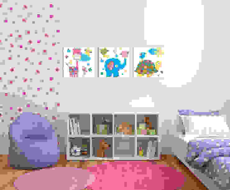 Dormitorios infantiles  de estilo  por PERPETUJA