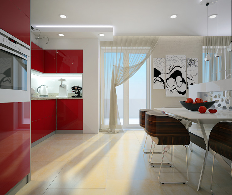 Modern kitchen by Инна Михайская Modern