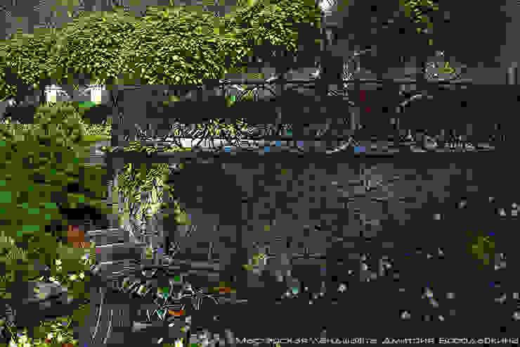 Безмятежное Сад в классическом стиле от Мастерская ландшафта Дмитрия Бородавкина Классический