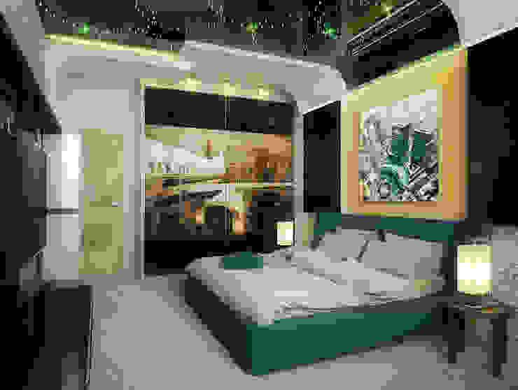 غرفة نوم تنفيذ Инна Михайская, حداثي