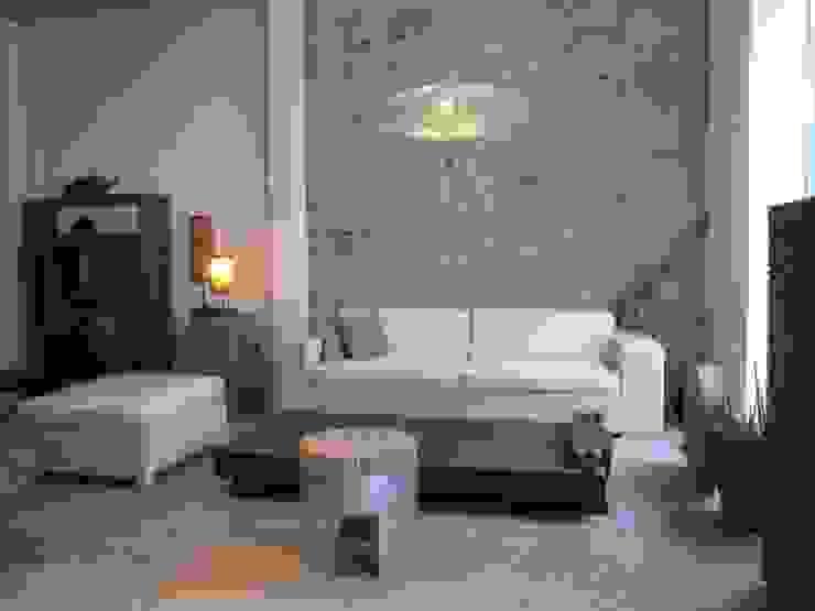 Rehabilitación integral WAREHOUSE ESTUDIO 95 Salones de estilo moderno de BOX49 Arquitectura y Diseño Moderno Piedra