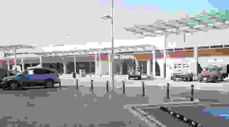 Plaza Nativa Garajes modernos de Nacional de Bancas Moderno