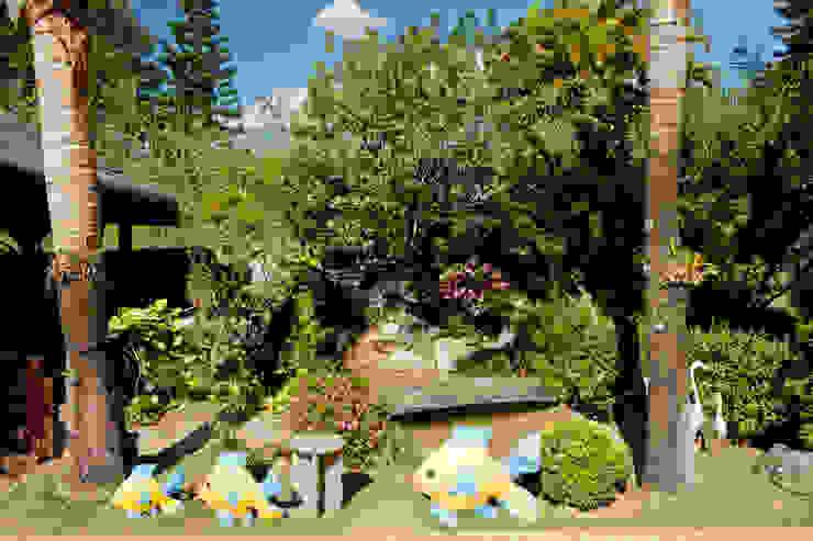 Cactus Arquitetura e Urbanismo Country style garden
