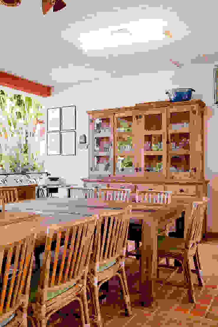 Cactus Arquitetura e Urbanismo Country style kitchen