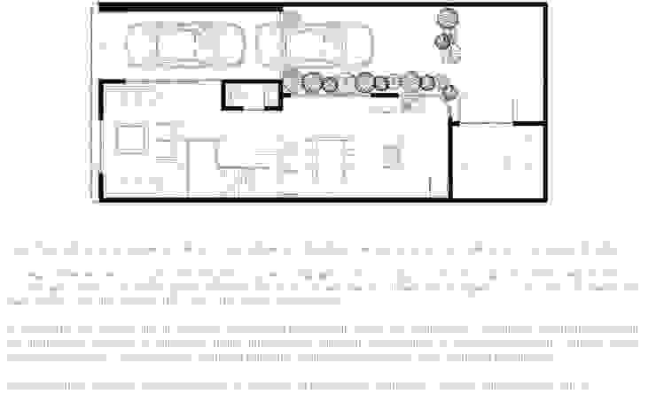Casa Tacuba Casas modernas de Colectivo IA02 Moderno