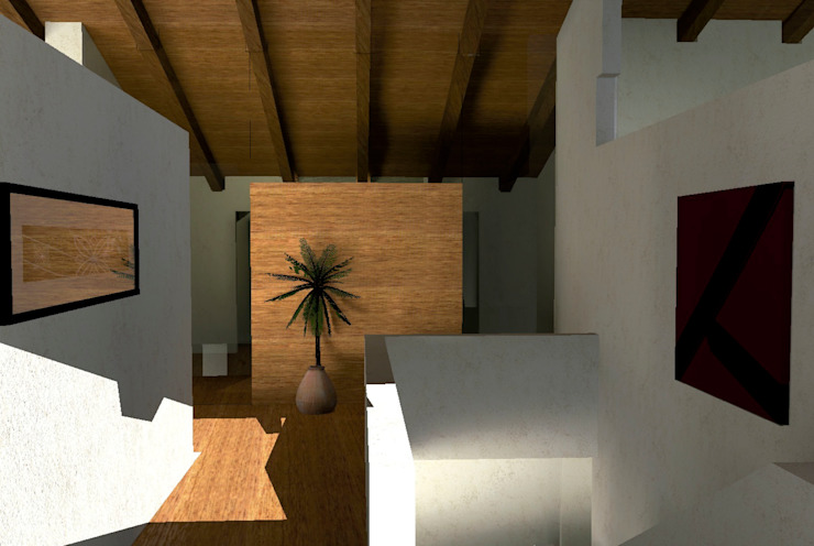 Casa Ladera Casas modernas de Colectivo IA02 Moderno