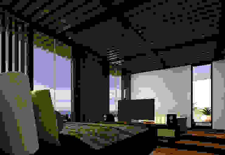 Casa Valle Casas modernas de Colectivo IA02 Moderno