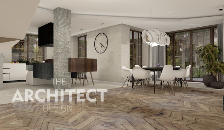 Salas de estar modernas por THE ARCHITECT DESIGN Moderno