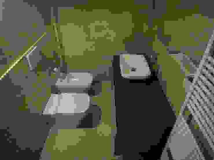 studionove architettura Mediterranean style bathrooms Ceramic Beige