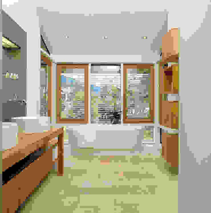 Modern Bathroom by Bau-Fritz GmbH & Co. KG Modern