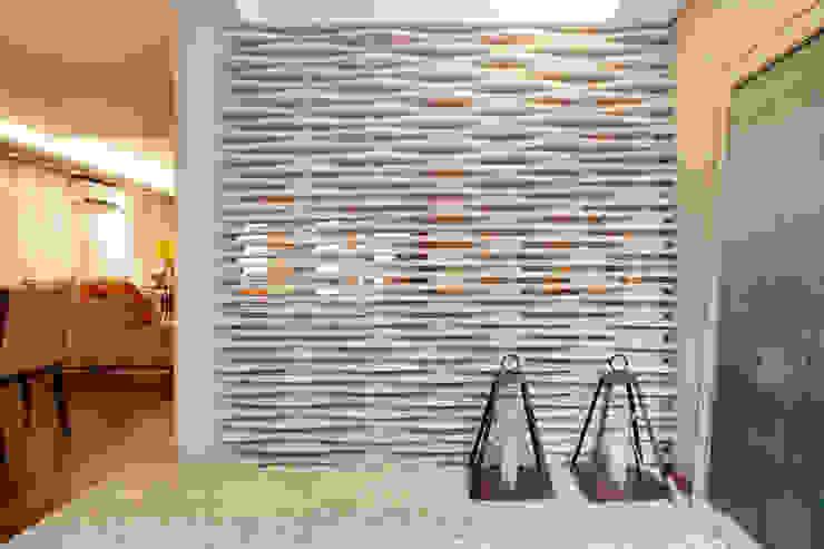 Pasillos y vestíbulos de estilo  por Arquitetura 8 - Ana Spagnuolo & Marcos Ribeiro, Moderno