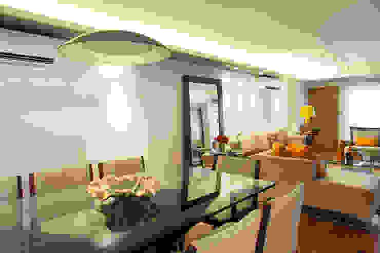 Sala de jantar Arquitetura 8 - Ana Spagnuolo & Marcos Ribeiro Salas de jantar modernas