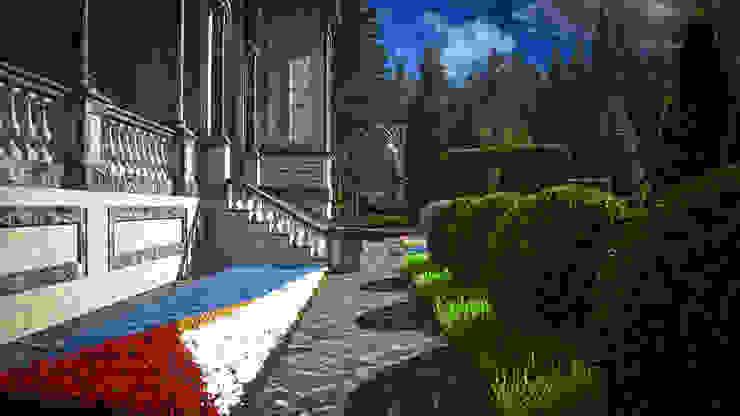 Marble House Сад в колониальном стиле от SVPREMVS Колониальный
